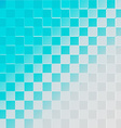 Abstract halftone background blue vector image