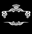 royal ornate vector image vector image