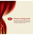 scenes and theatrical masks vector image