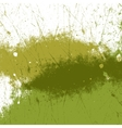 Green Paint Texture vector image