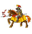 Rider knight vector image