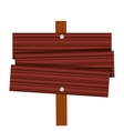 lavel guide wooden travel vector image