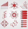 Set of Infographics Modern design template vector image