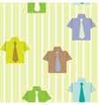 background with a shirt vector image