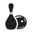 bowling3 vector image