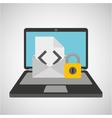 email envelope data protection cyber security vector image