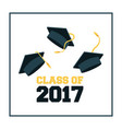 academic graduation design vector image
