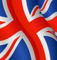 flag of UK vector image vector image
