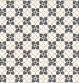 Seamless stylized flower pattern in oriental style vector image vector image