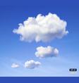 Speech cloud vector image