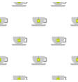 coffee cup pattern flat vector image
