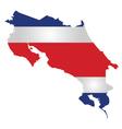Costa Rica Flag vector image