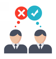 Decision Making Concept vector image
