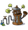 Distillation machine vector image vector image