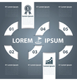 Business banner infographics vector image