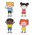 baby kids vector image