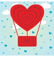 Valentines Day balloon heart vector image