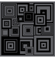 Abstract squares vector image vector image