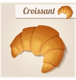 Detailed Icon Croissant vector image