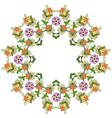 Ottoman motifs design series eighty five vector image
