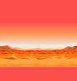 seamless far west desert landscape for ui game vector image
