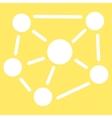 Social Graph icon vector image