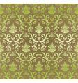 vintage decorative wallpaper vector image vector image