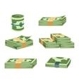 Dollar money symbol icon vector image