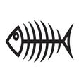 Fish bone2 vector image