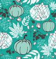 seamless pattern with nature vector image