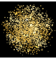 abstract gold explosion vector image vector image