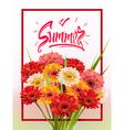 Summer Lettering poster vector image