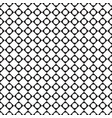 black and white tile chessboard pattern with vector image