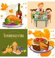 harvest set organic foods like fruit and vector image