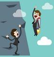 startup business flat design vector image