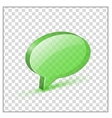 Glossy bubble vector image vector image