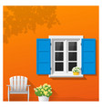 architectural element window background 2 vector image