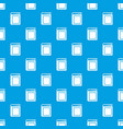 thick book pattern seamless blue vector image