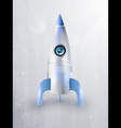 icon of rockets for space vector image
