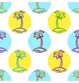 islands with palm vector image vector image