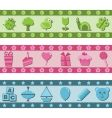 children's banners vector image