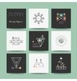Set of minimal geometric shapes vector image
