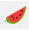 watermelon isometric icon vector image