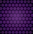 purple floral background vector image