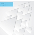 Paper triangels backgorund vector image