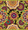 mandala colorful seamless vector image