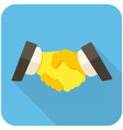 Partnership icon vector image