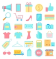 Shopping icon vector image