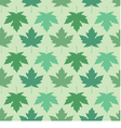 seamless wallpaper Maple leaves vector image vector image