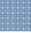 Vintage Blue And White Background vector image